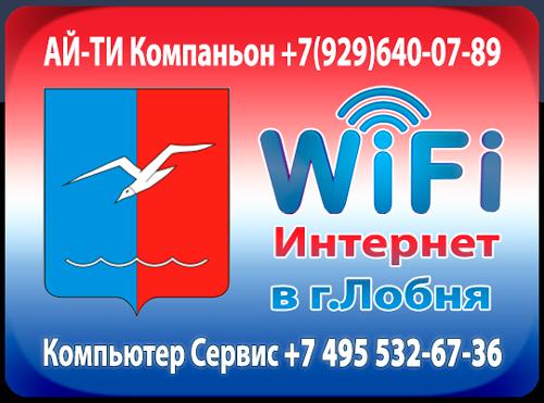 Установка и настройка Wi-Fi роутера в городе Лобня