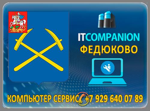 Ремонт компьютеров в селе Федюково