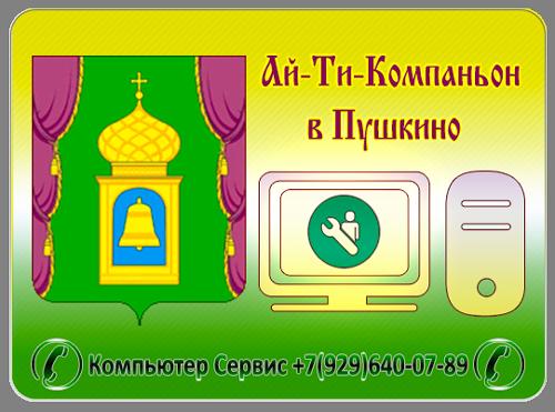 Компьютерный услуги Пушкино