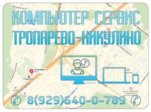Компьютерная помощь Тропарево Никулино