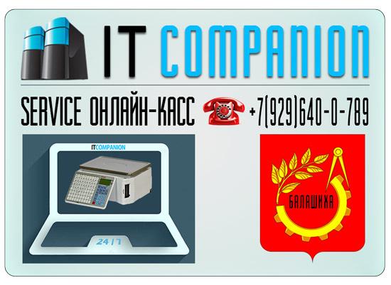 ITCOMPANION Обслуживание онлайн касс Балашиха