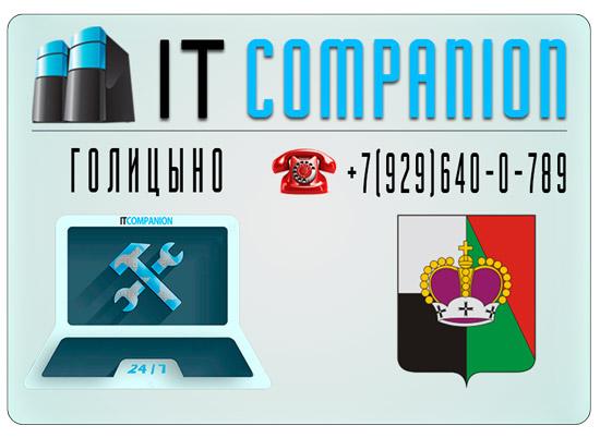 Частный сервис по ремонту компьютерной техники в районе Голицыно