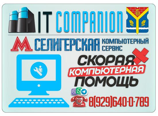 Ремонт компьютеров на дому / офисе в районе метро Селигерская