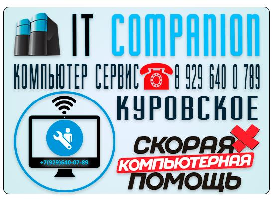 Компьютер сервис город Куровское